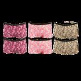 2-Pack Fun2Wear Meisjes boxershorts Animal Barely Pink_