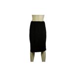 5569 Dames lange onderrok (65cm) Zwart_
