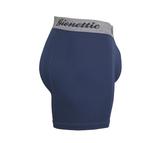 3-Pack Gionettic Bamboe Heren boxershorts Marine_