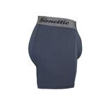 6-Pack Gionettic Bamboe Heren boxershorts Antraciet_