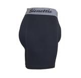 6-Pack Gionettic Bamboe Heren boxershorts Zwart_