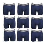 9-Pack Gionettic Modal Heren boxershorts Marine_