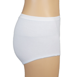 3-pack Lunatex Dames tailleslips (Maxi) wit_