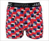 H216-30009 2-pack Heren Boxershort Blauw/Rood _