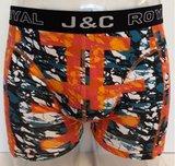 H238-30056 2-pack Heren Boxershort Groen/Oranje_
