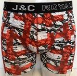 H238-30055 2-pack Heren Boxershort Rood/Blauw_
