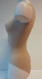 Dames body met breed bandje slipmodel Huid_