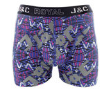 H241-30059 2-pack Heren Boxershort Bleu/Purple_