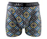 H242-30060 2-pack Heren Boxershort Gold/Aqua_