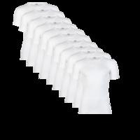 15 stuks Heren T-shirts met korte mouw Beeren wit