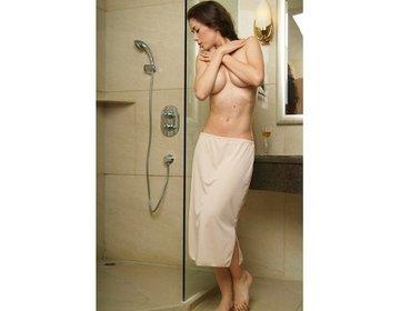 5569 Dames lange onderrok (65cm) Huid