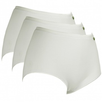 3-pack Lunatex Dames tailleslips (Maxi) wit