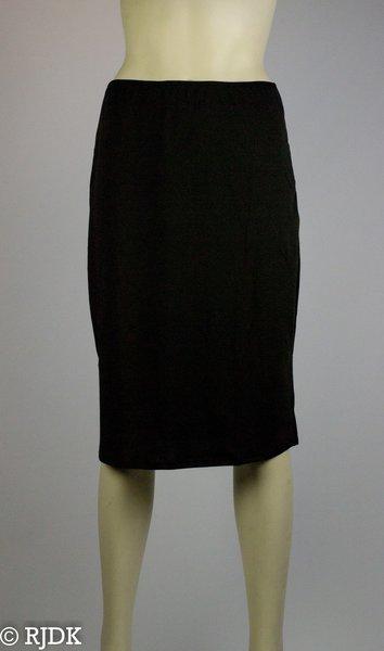 5569 Dames lange onderrok (65cm) Zwart