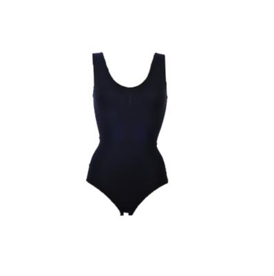 Dames body met breed bandje slipmodel Zwart