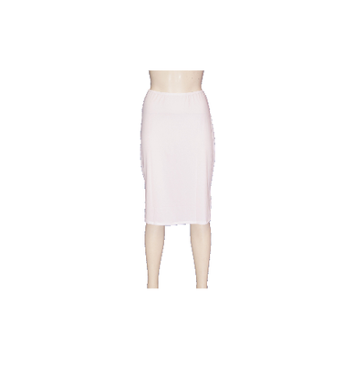 5569 Dames lange onderrok (65cm) Wit