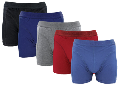 4-pack heren boxershorts assorti