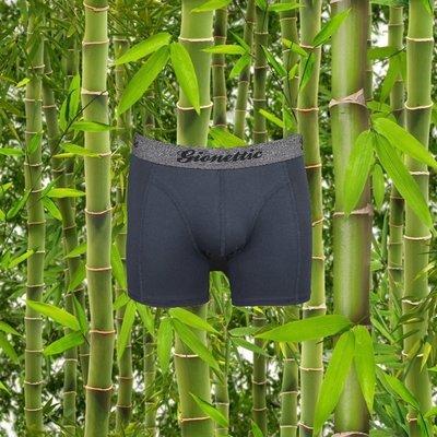 Gionettic Bamboe Heren boxershort Antraciet