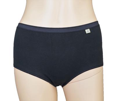 3-pack Lunatex Dames tailleslips (Maxi) zwart