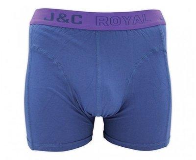 H152 Heren boxershort Jeans Blauw