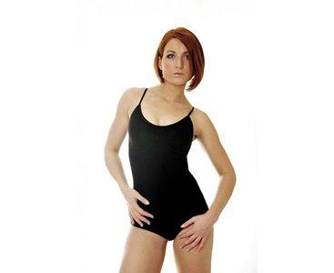 Dames body met verstelbare bandjes corrigerend Zwart