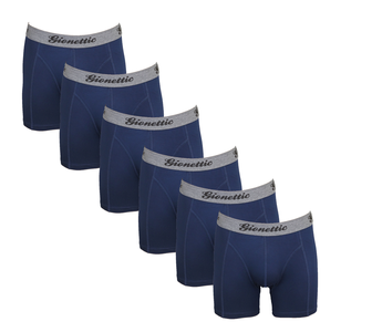 6-Pack Gionettic Modal Heren boxershorts Marine