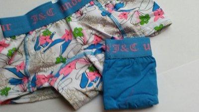 2-pack Meisjes Hipster Blauw