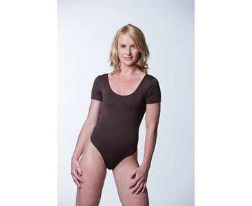 Dames body K.M. stringmodel Zwart